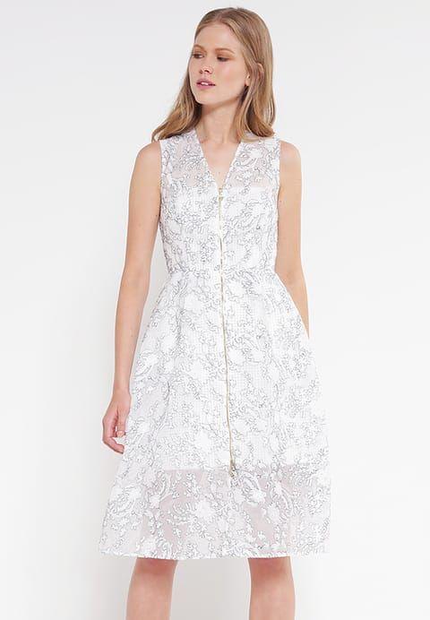 MARION - Cocktailkleid/festliches Kleid - ivory | schickes Kleid ...