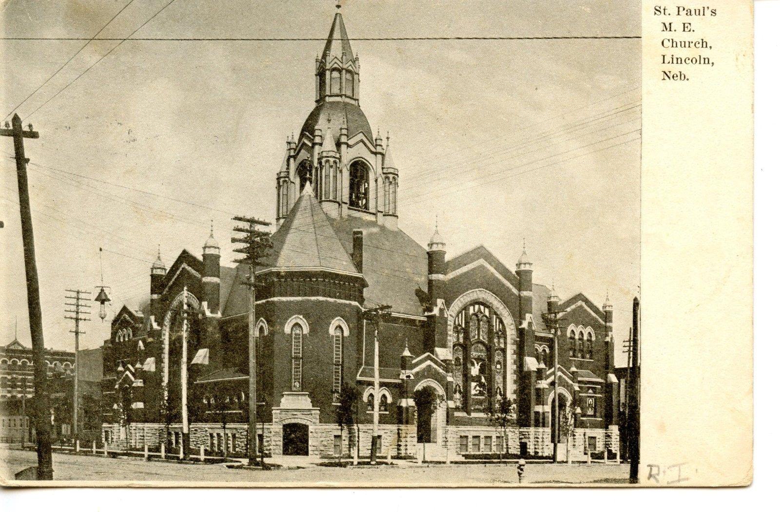 St Saint Paul's Methodist Church BuildingLincolnNebraska