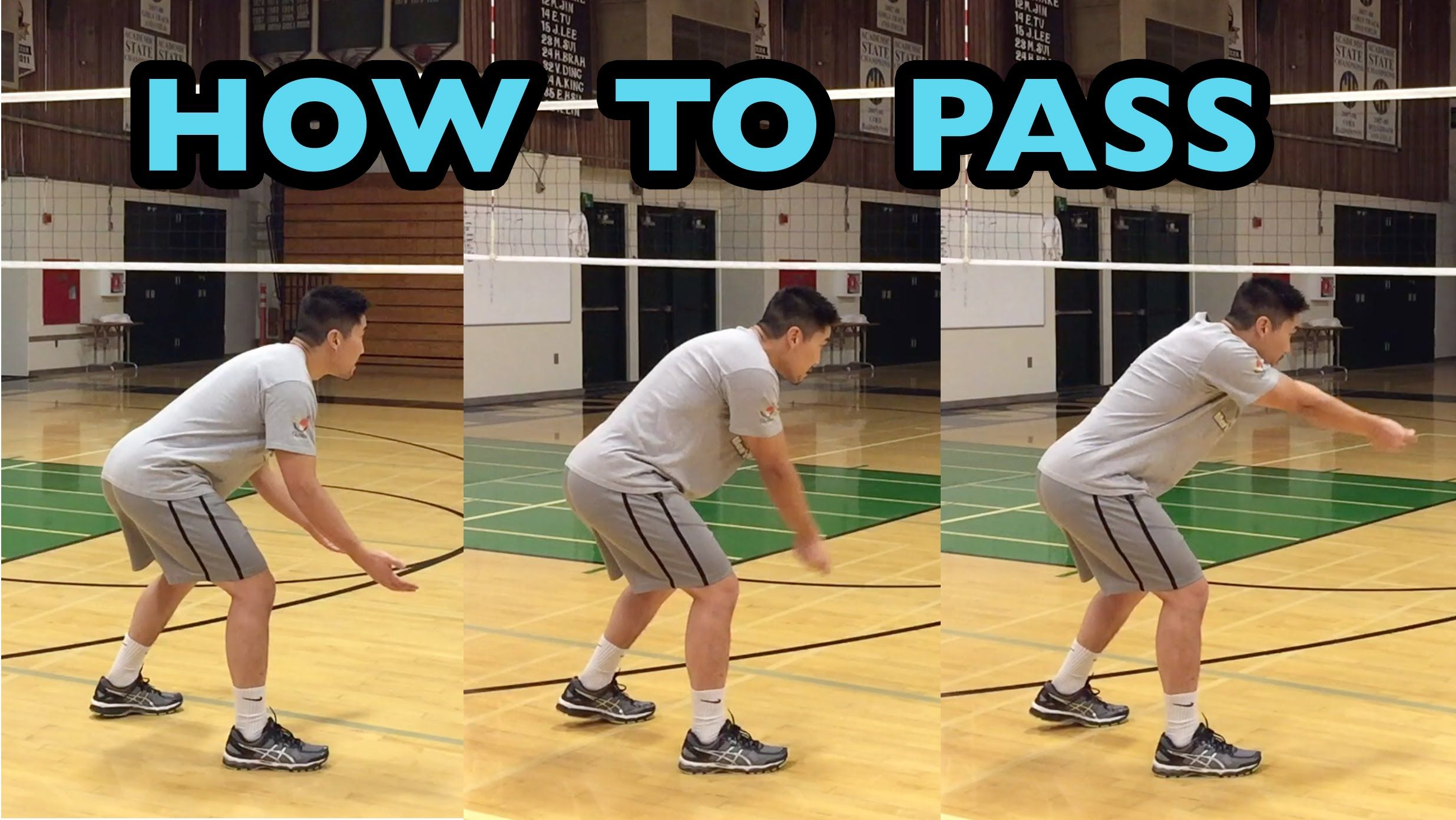 Passing Fundamentals How To Pass A Volleyball Tutorial Part 1 6 Coaching Volleyball Volleyball Training Volleyball Inspiration