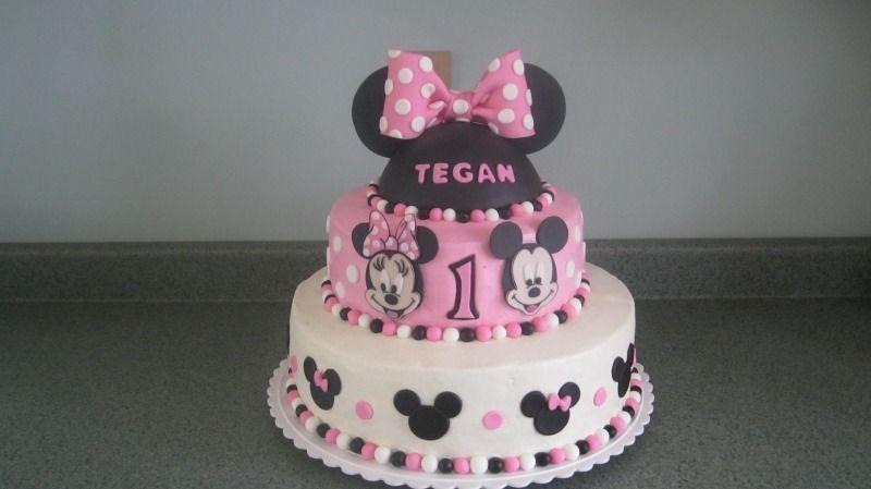 Modelos De Tortas Infantiles Minnie | Wlater Blog