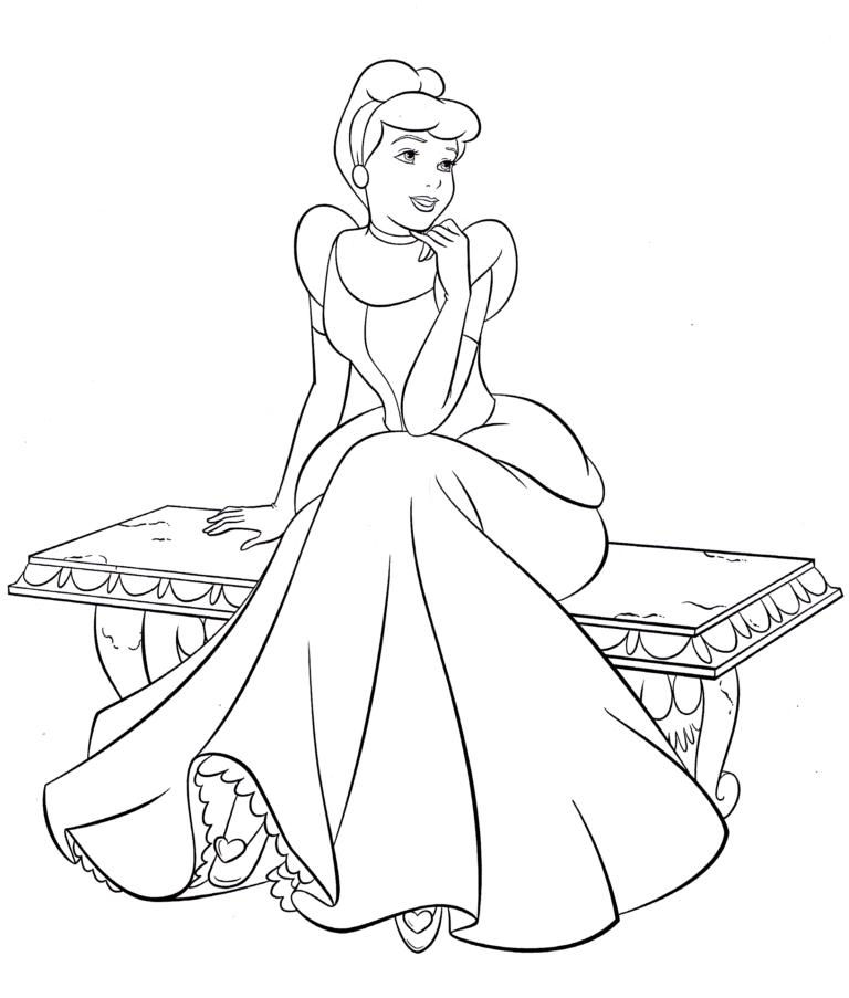 La Cenicienta Dibujos Para Colorear Bebeazul Top Cinderella Coloring Pages Princess Coloring Pages Disney Princess Coloring Pages