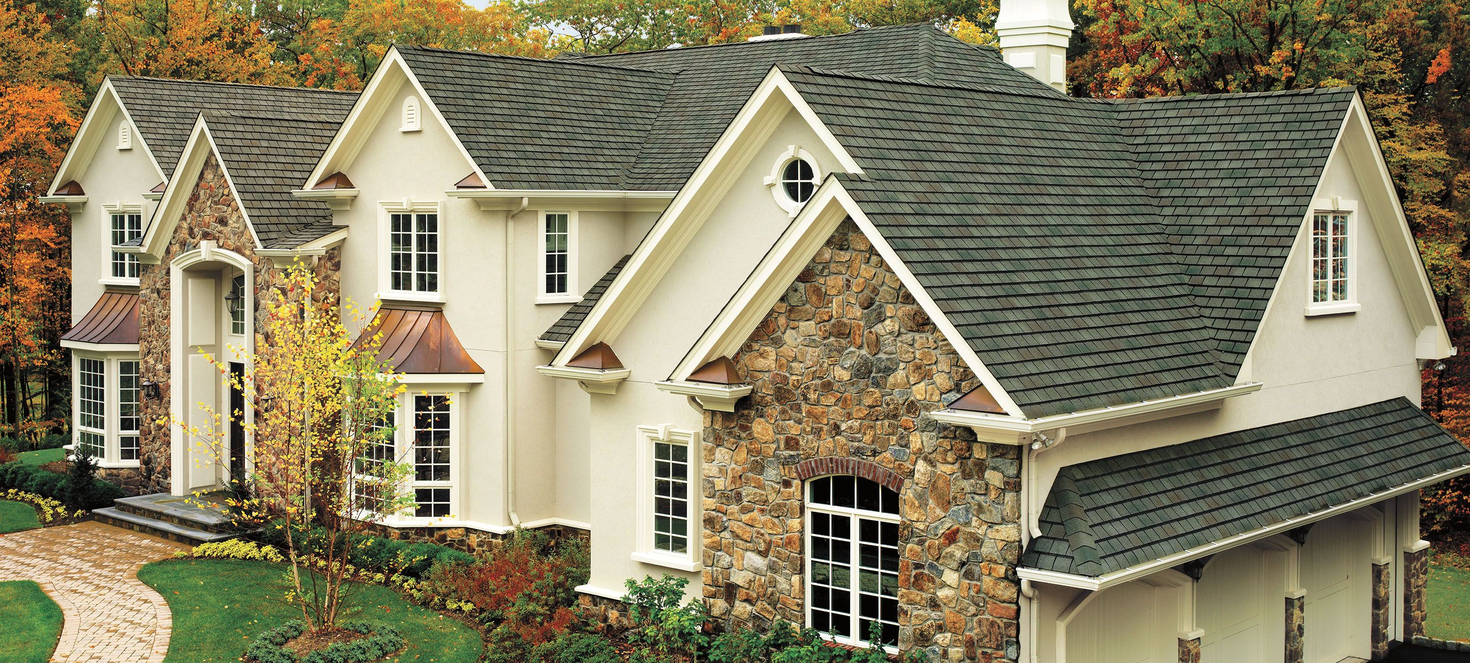 Best Gaf Slateline® Roofing Shingles Roof Styles Roofing 400 x 300