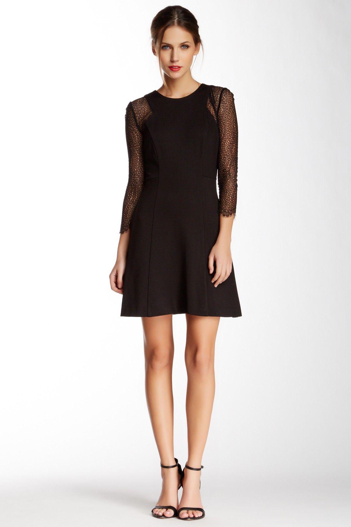 Style Inspiration Wear A Lace Shirt Under A Sleeveless Dress 06