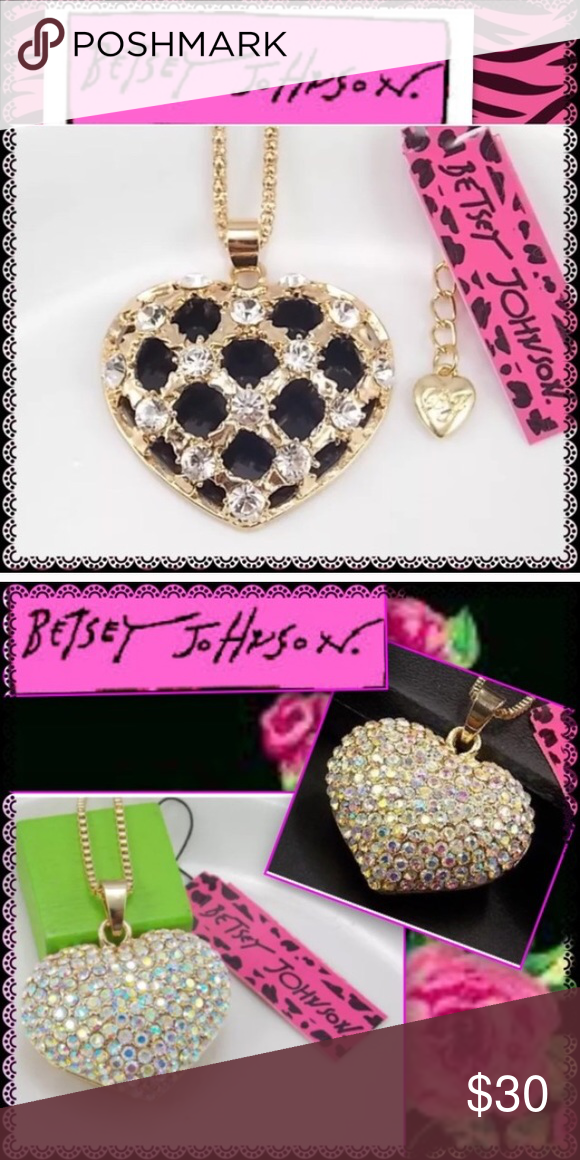 Betsey Johnson Necklace Bundle Brand New. ✨Reserved for customer✨ Betsey Johnson Jewelry Necklaces