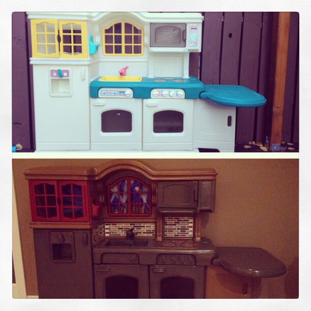 Little tykes kitchen updated | Childhood <3 | Little tikes ...