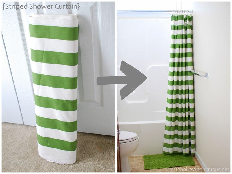 Marvelous DIY Shower Curtain TUTORIAL