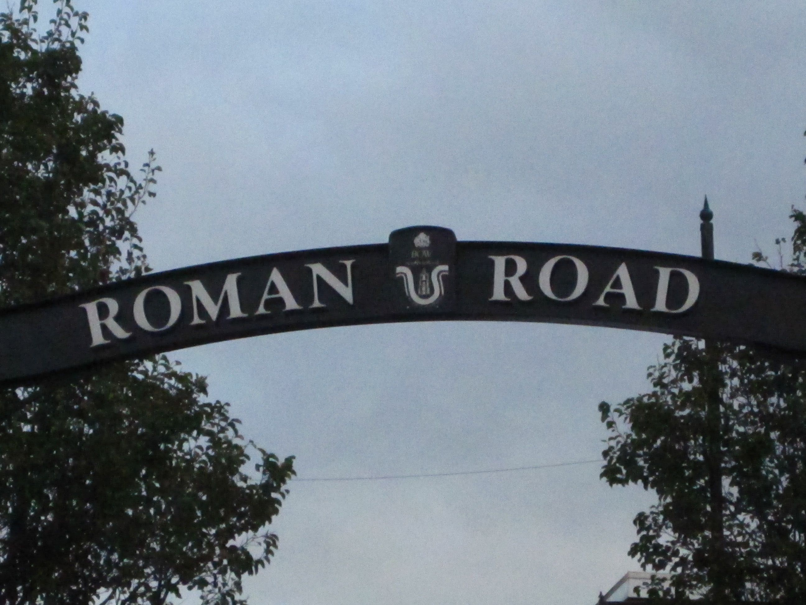 Roman Road Market in London, Greater London