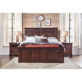 Best Addison White Bedroom Set Choose Size En 2020 400 x 300