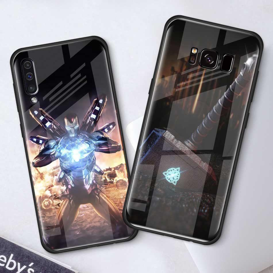 Marvel Avengers Case for Samsung S10 S10e S9 S10 Plus Note 9 Cover