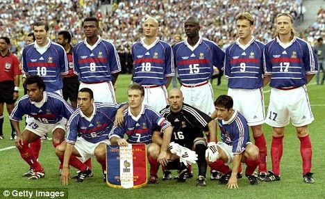 France 1998 In 2020 World Football World Cup Teams France Team