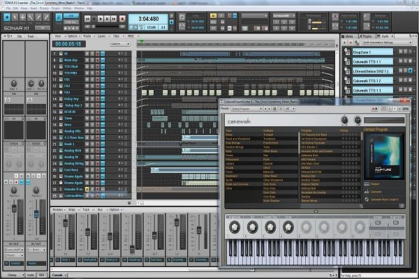 cakewalk sonar home studio | Free crack file download | Recording