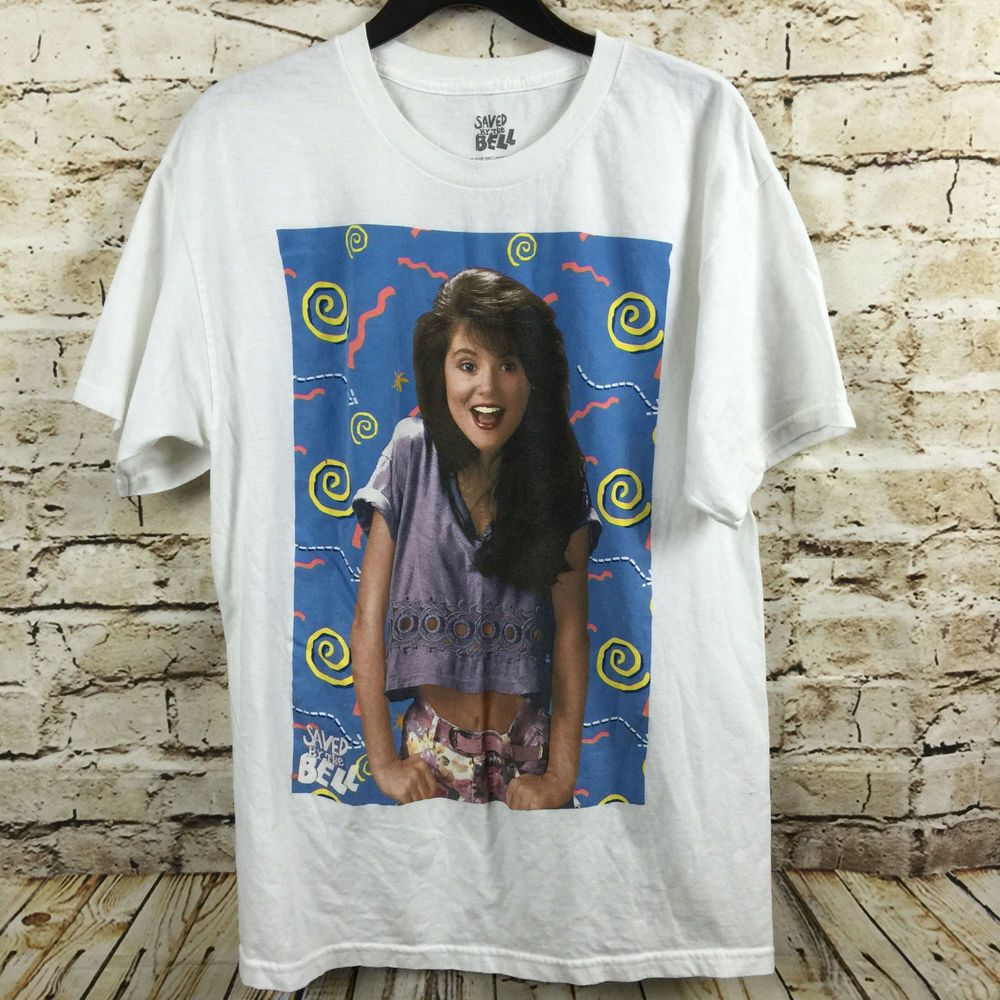 6b3928d8 Save By The Bell Graphic T-Shirt Kelly Kapowski Size Large NBC Universal  Media #NBCUniversalMedia