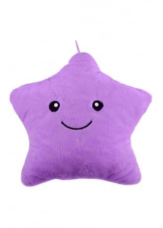 Luminous Pillow Toy LED Light Plush Colorful Stars Valentine/'s Day Gift Decor UK