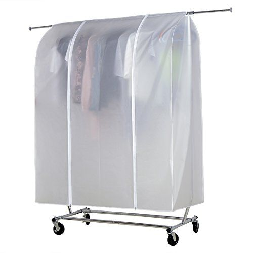Amazon Com Heavy Duty Clothes Hanger Rolling Garment Rack With