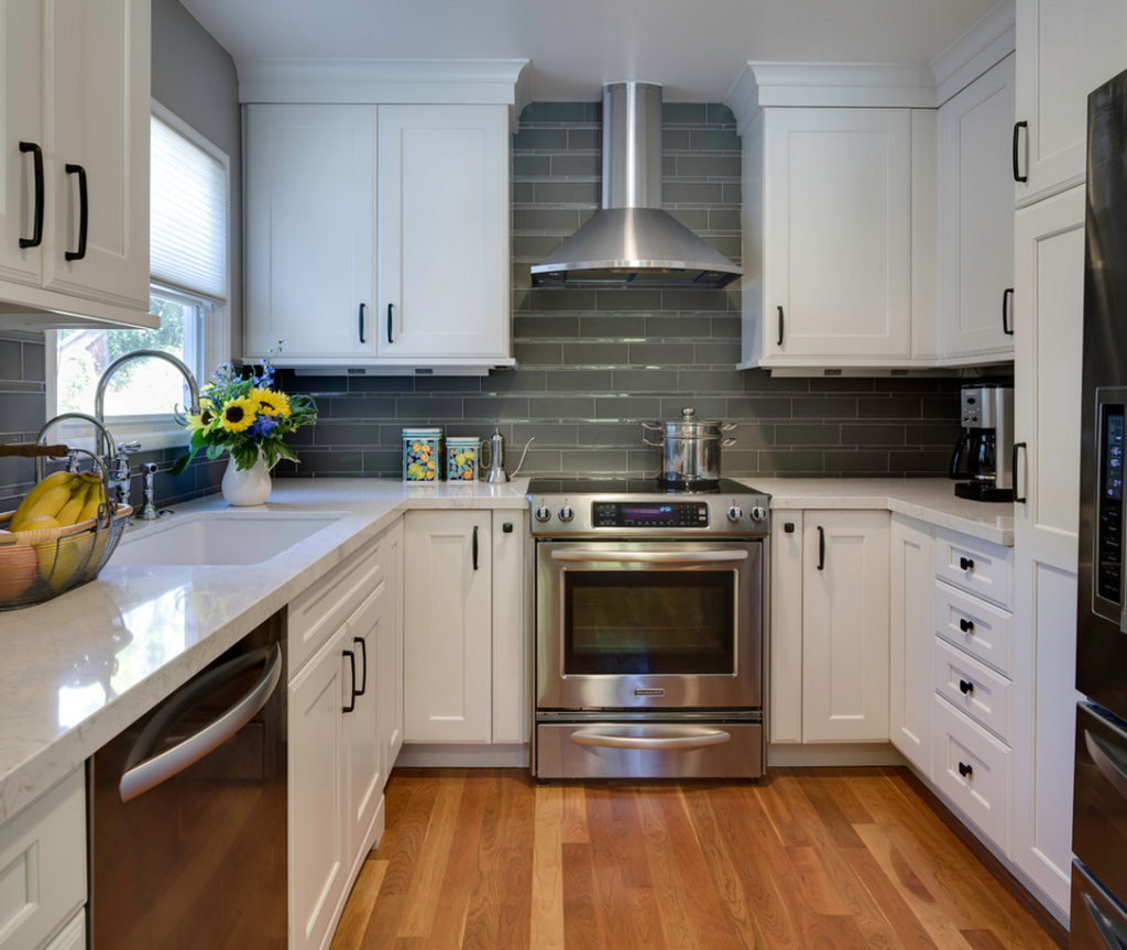 Very Small Kitchen Ideas Pictures Tips From Hgtv: 9 Fascinating Ideas For Practical U-shaped Kitchen