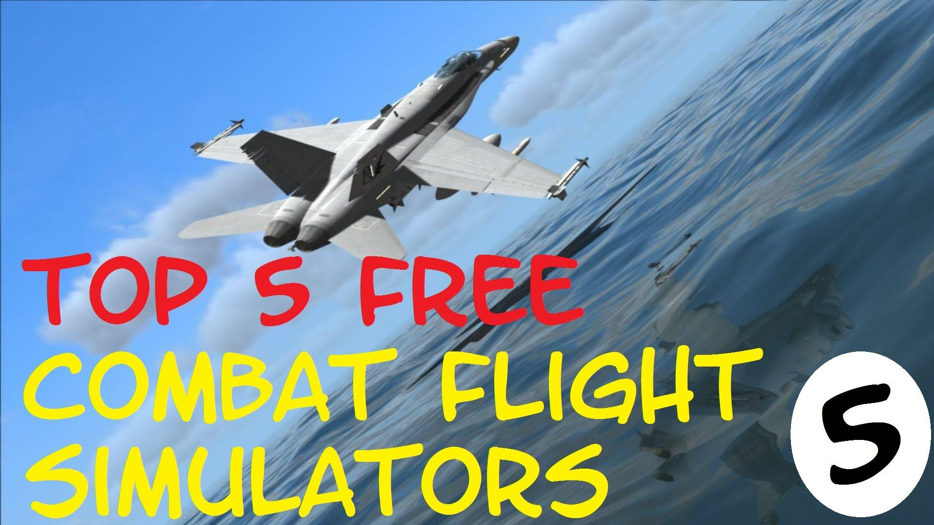 Top 5 Free PC Combat Flight Simulator Games 2015 Flight