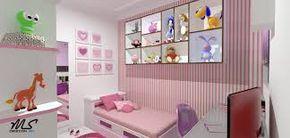 Resultado de imagem para quarto de menina apartamento