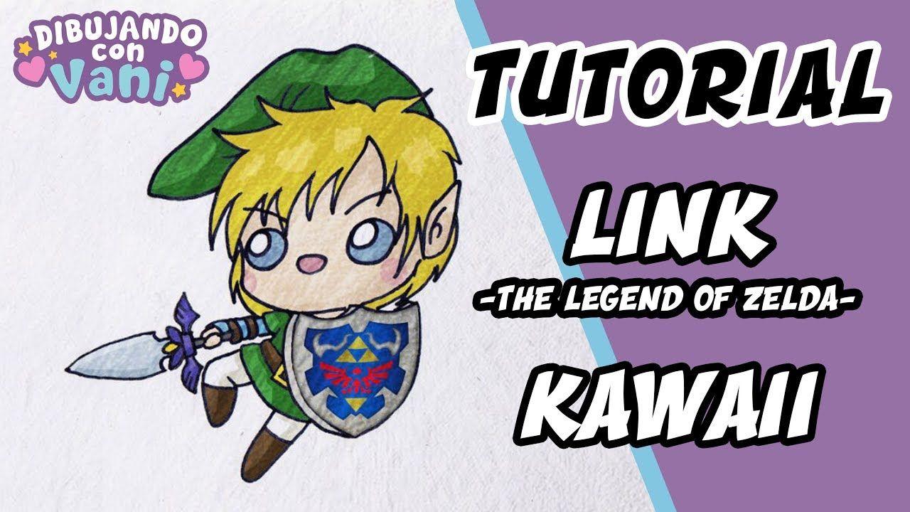 Como Dibujar A Link De Zelda Kawaii Dibujos Faciles Paso A Paso Draw Dibujos Kawaii Kawaii Dibujos
