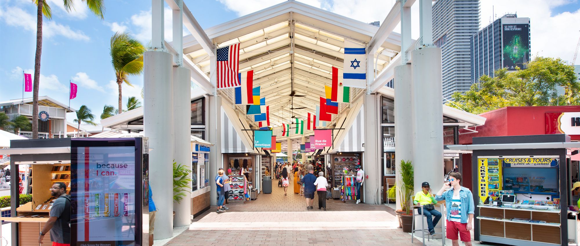 Bayside Marketplace | Best Shopping Mall in Miami ♥ Great