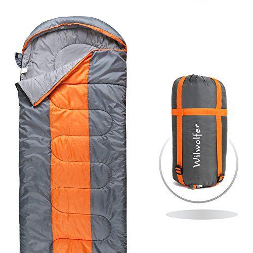Sleeping Bag Lightweight Comfort Envelope Portable