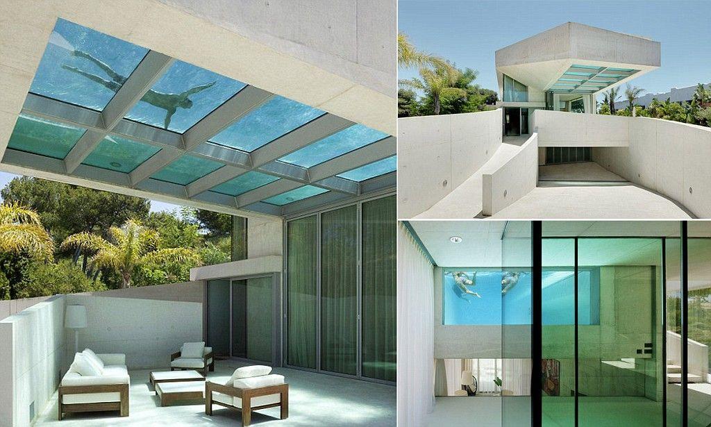 Luxury Marbella Villa With A Glass Bottom Infinity Pool On Its Roof Marbella Villas Villas