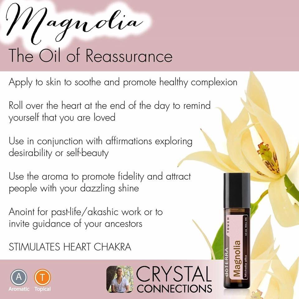 Magnolia Essential Oil The Oil Of Reassurance Emotional Uses My Essential Oils Terra Essential Oils Essential Oils Wellness