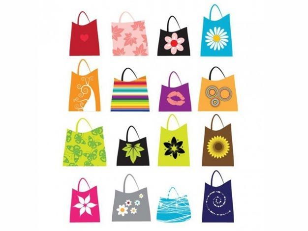 c9aaa6ca4d Download here Free Nature Shopping Bags With Flower Prints Vector Graphic  in EPS file format. In today s post