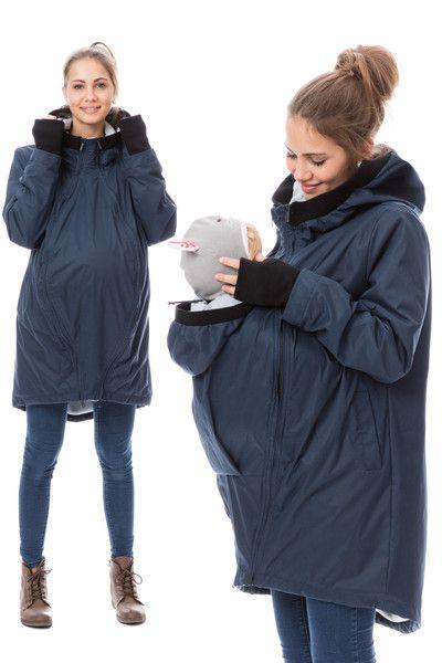 GoFuture® Tragejacke SHELTER 4in1 Babytragejacke aus | Etsy