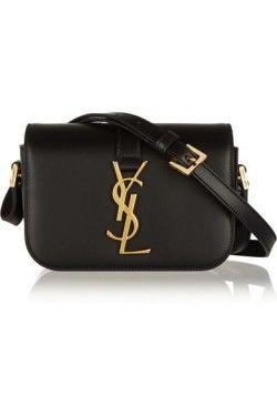 b26181a71673 Bag · Saint Laurent Monogramme Sac Université small leather shoulder bag