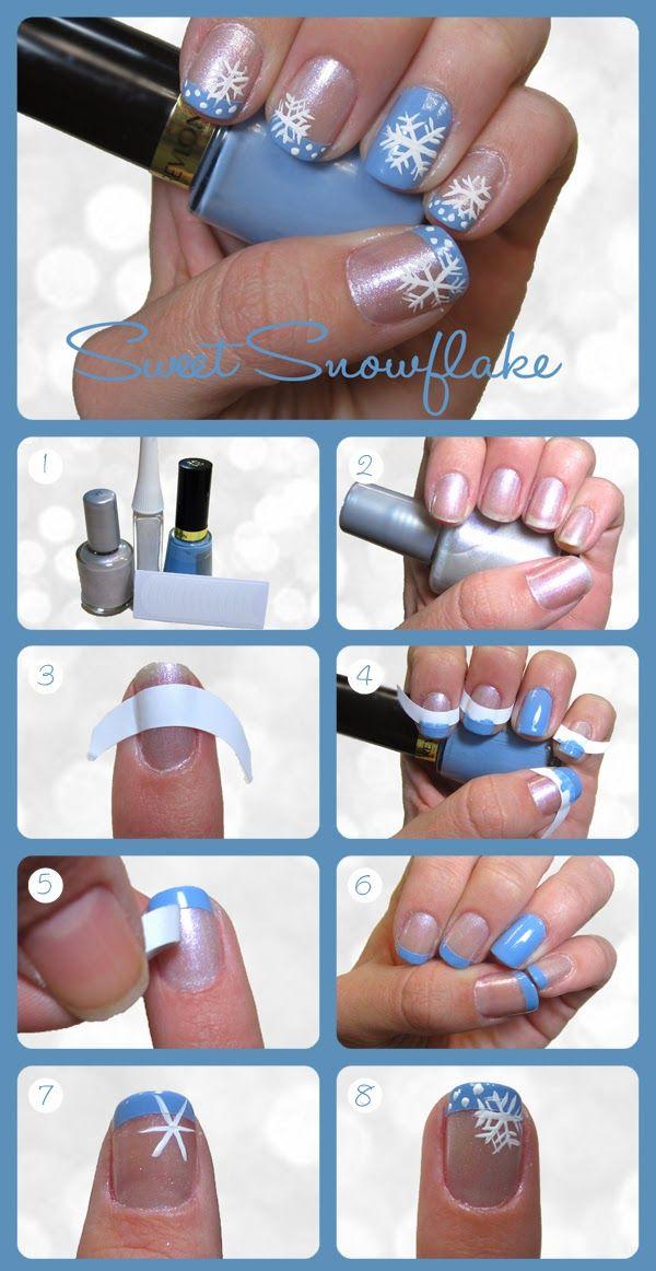 28 Creative Winter Nail Art Ideas Diy Ideas Facebook And