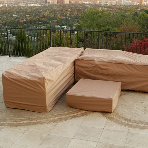 Portofino Deluxe Furniture Covers For 6 Piece Sectional