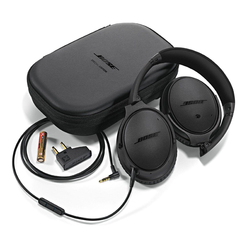 Amazon Com Bose Quietcomfort 25 Acoustic Noise Cancelling Headphones For Apple Devices Triple Black H Bose Headphones Noise Cancelling Headphones Headphones
