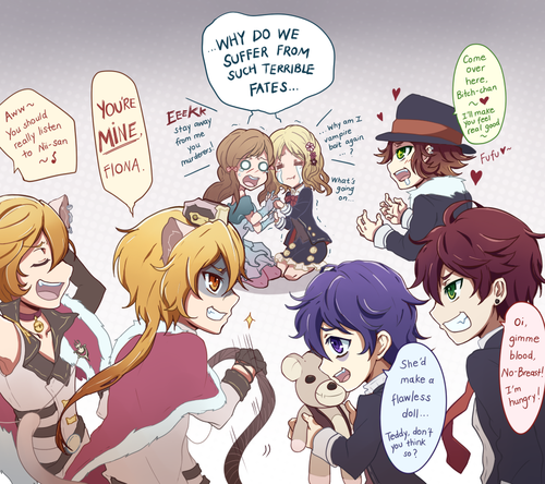Pin on Otomes ^^ (Reverse Harem Games and Animes)