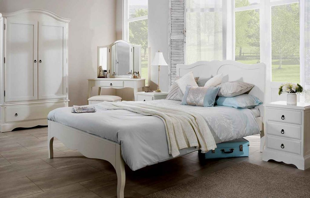 romantic bedroom furniture french round bed