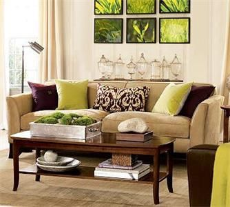 Hgtv Home Products For Your Home Brown Living Room Decor Brown Living Room Living Room Green