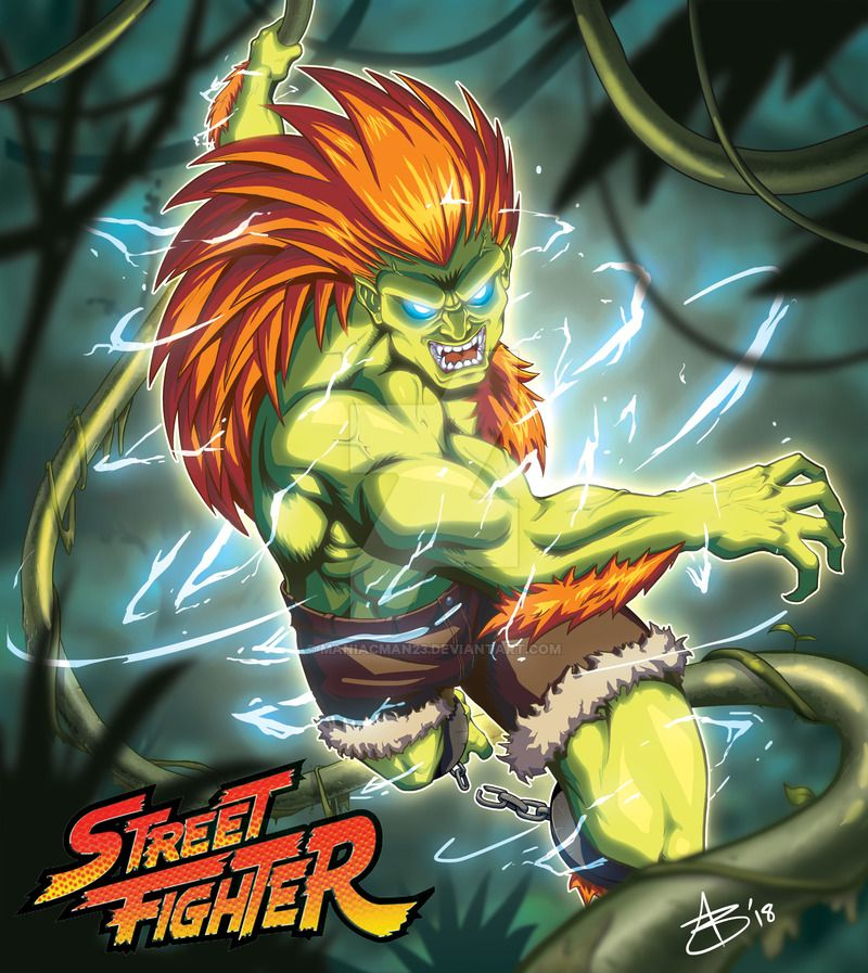 Blanka By Maniacman23 Street Fighter Tekken Street Fighter