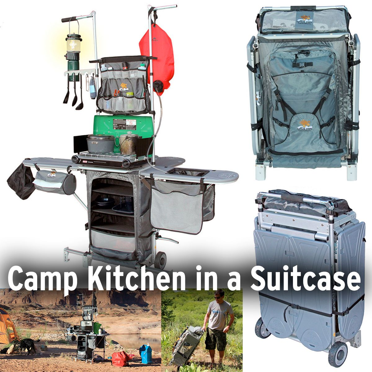 Perfect For An RV Without An Outdoor Kitchen! Grub Hub