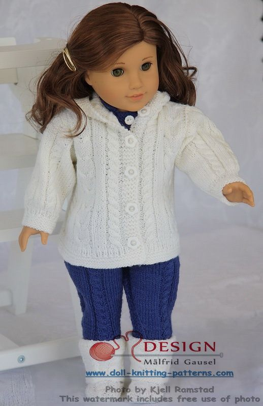 Knitting Patterns for Dolls Clothes | Doll-knitting-patterns from ...