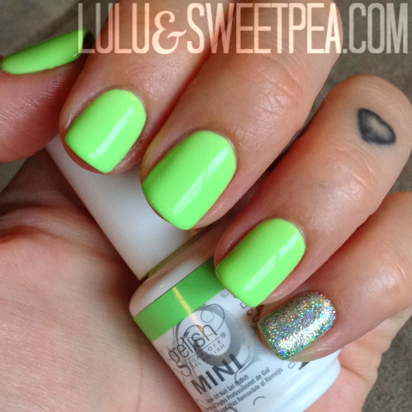 Gelish Lime All The Time- the perfect bright lime green gel mani for ...