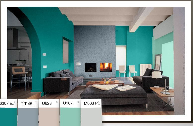 Ideas Para Pintar Las Paredes De Colores Vivos Blogdecoraciones Casas Pintadas Interior Colores Para Pintar Casas Casas Pintadas