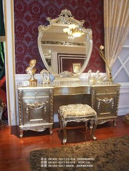 Luxury Vanity Dresser With Mirror | Luxury Classic Dresser,dressing Table  And Mirror,mirrored