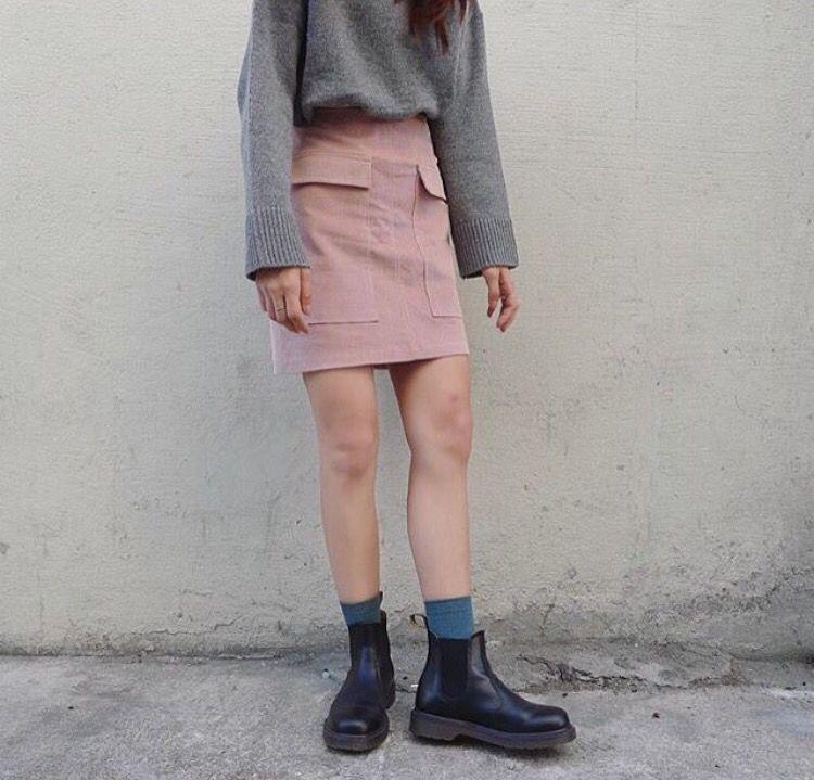 Dr martens   Inspiration für Mode   Chelsea boots outfit ...