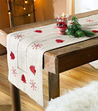 caminos de mesa navideños - Buscar con Google u2026 Pinteresu2026