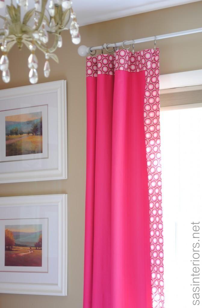 Diy Add Decorative Trim To Curtains Diy Curtains Diy Home Diy Decor