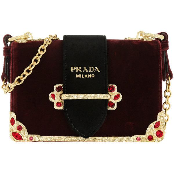 8 180 Pln Liked On Polyvore Featuring Bags Handbags Shoulder Red Prada Tote Bag