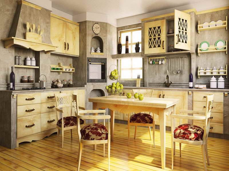 20 italian kitchen ideas that will inspire you rustic for Rustic kitchen floor ideas