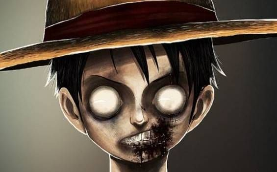 Luffy from One Piece, Zombie Version | The Geek Place