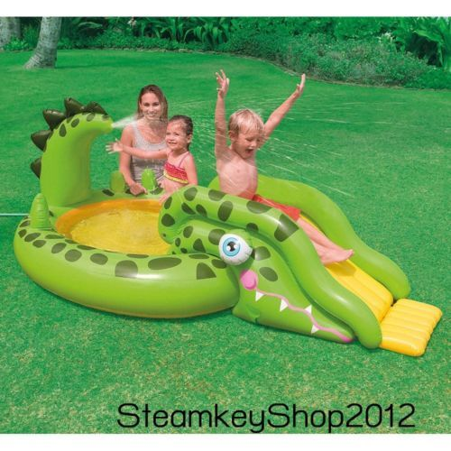 Kiddie-Swimming-Play-Center-Park-Pool-Kids-Water-Slide-Garden-Inflatable-Family