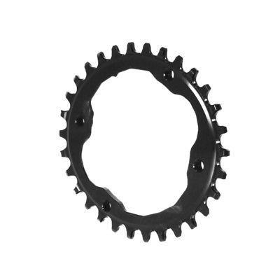 Absolute Black XTR Asym 96BCD Oval chainring 30T - black