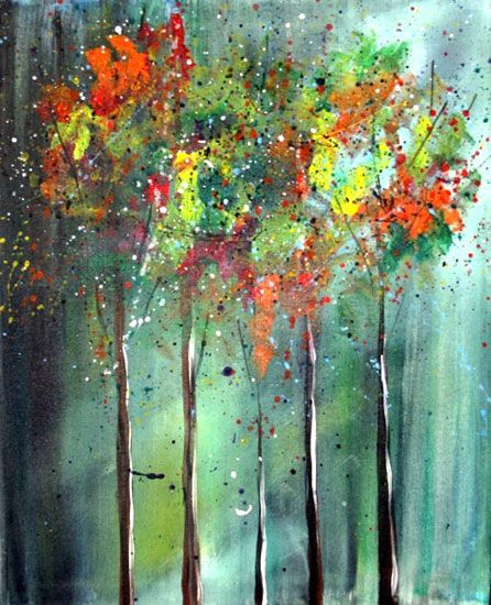 abstract trees - Google Search | tree art | Pinterest | Alberi ...